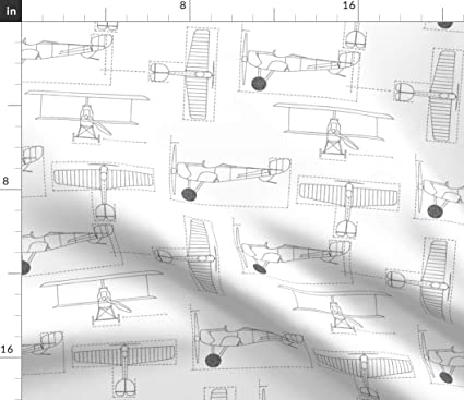 Amazon com: Airplane Fabric - Delt Flight School Blueprint