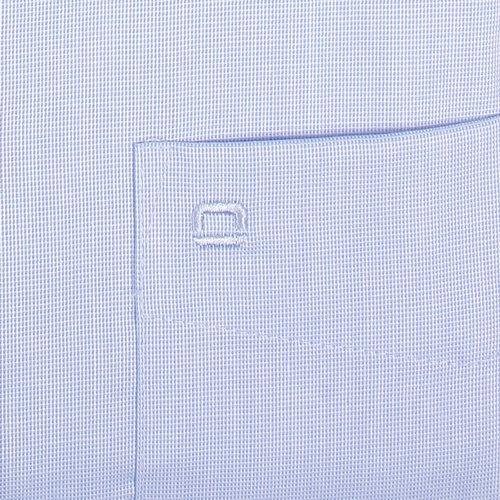 OLYMP Luxor Comfort Fit Hemd Halbarm New Kent Kragen Aircon Hellblau