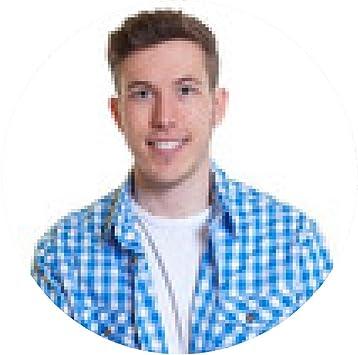 alfombrilla de ratón Hombre joven en camisa de cuadros con los brazos cruzados: Amazon.es: Electrónica