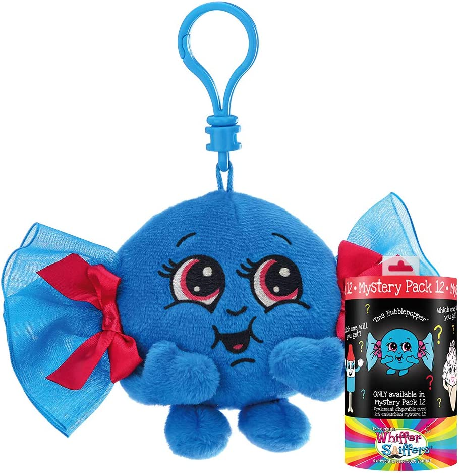 Whiffer Sniffers Mystery Pack 12 Scented Plush Backpack Clip