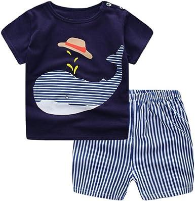 Ropa Bebe Niña Verano 2019 SHOBDW Tops+Pantalones Cortos ...