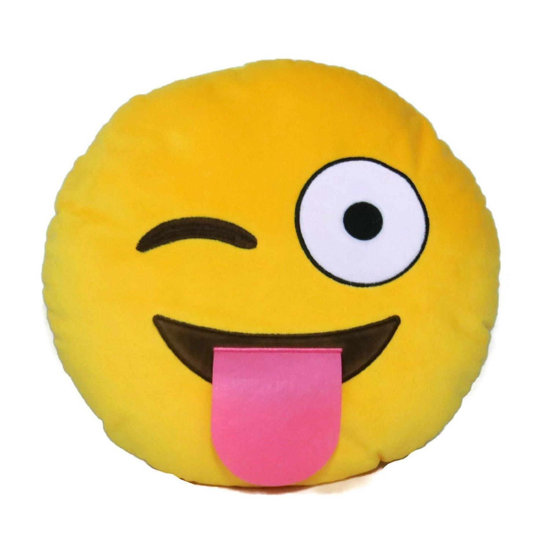 Desire Deluxe 35cm Smile Emoti Cushion Emoticon Poop Crown Pillow Stuffed Plush Soft Toy crpoo001