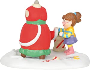 Department 56 North Pole Village Accessories She'll Be The Belle of The Ball Figurine, 2.1 Inch, Multicolor