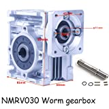 Worm Gear Gearbox NMRV-030 Speed Reducer Ratio 40:1 for Stepper Motor