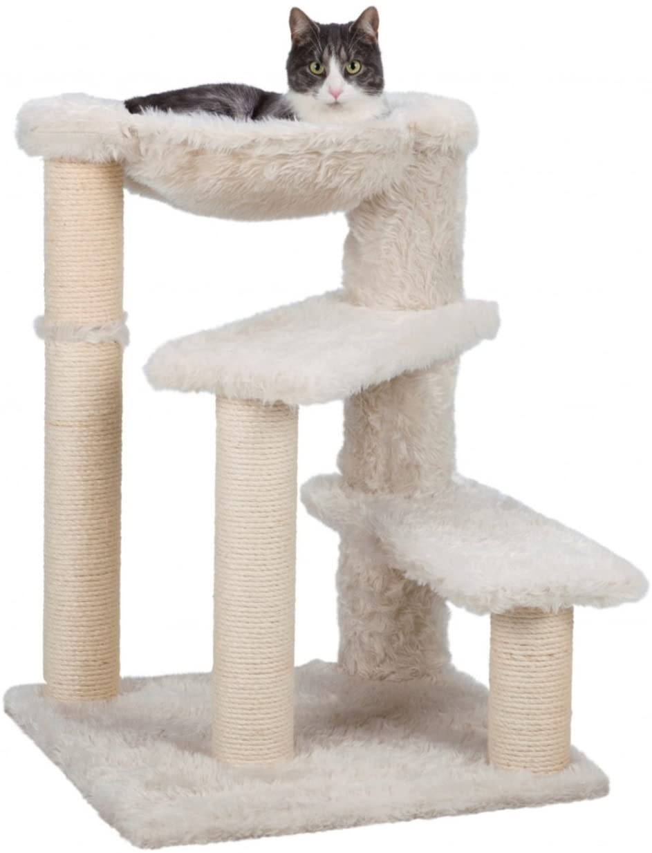 Trixie Pet Products Baza Senior Scratching Post, Cream : Pet Supplies