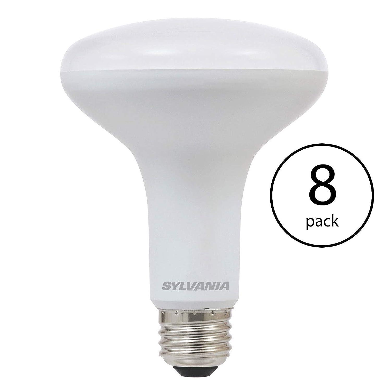 Sylvania BR30 65W 省エネ ソフトホワイト 2700K LED 投光電球 (4個パック) B07H1111ZX