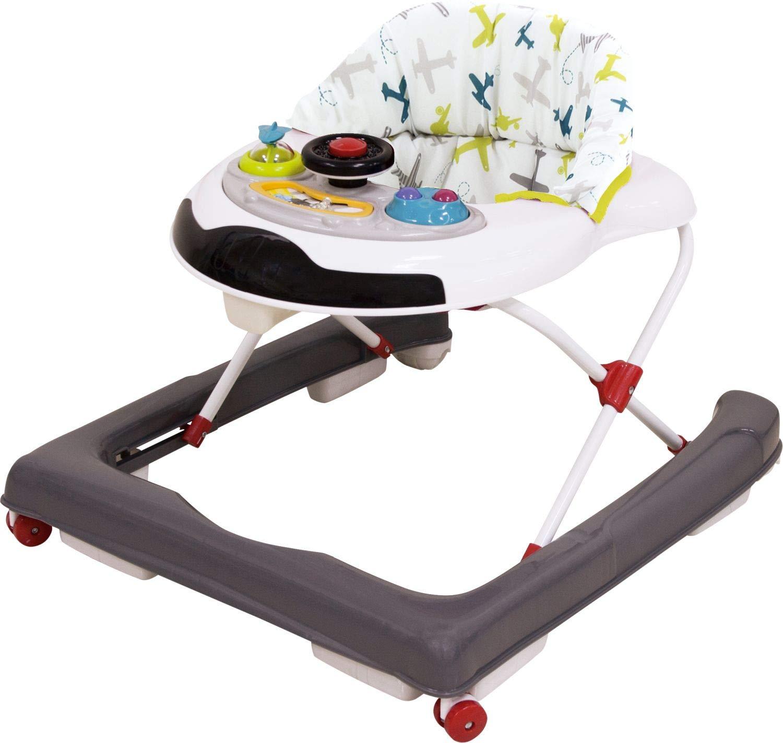 Bieco 19004402 - Tacatá con ruedas y asiento extraíble, para ...