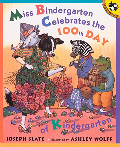 Miss Bindergarten Celebrates the 100th Day of Kindergarten (Picture Puffins) -