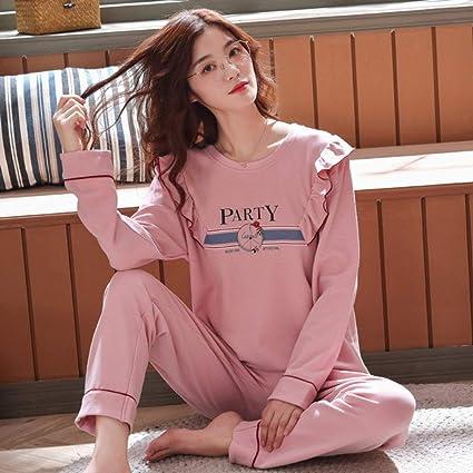 YYXJLG Pijama, Conjuntos de Pijamas para Mujer Otoño Invierno ...