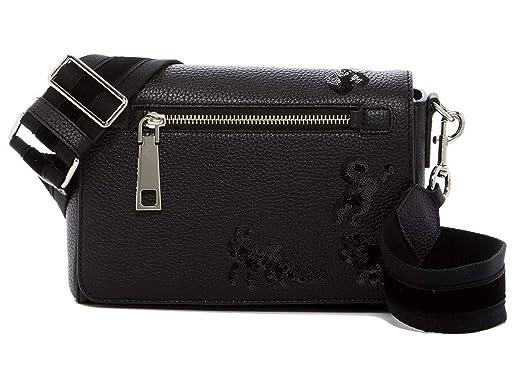 35bf3f4ecafc Marc Jacobs Small Gotham Flocked Animals Leather Shoulder Bag (Black)