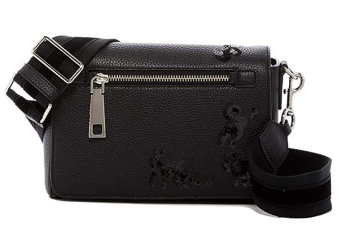 0f9745c0d95ec1 Marc Jacobs Small Gotham Flocked Animals Leather Shoulder Bag (Black)