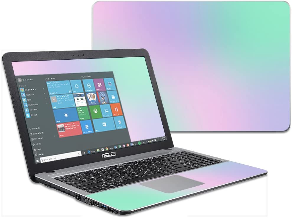 """MightySkins Skin Compatible with Asus VivoBook X540SA X540LA 15.6"""" wrap Cover Sticker Skins Cotton Candy"""