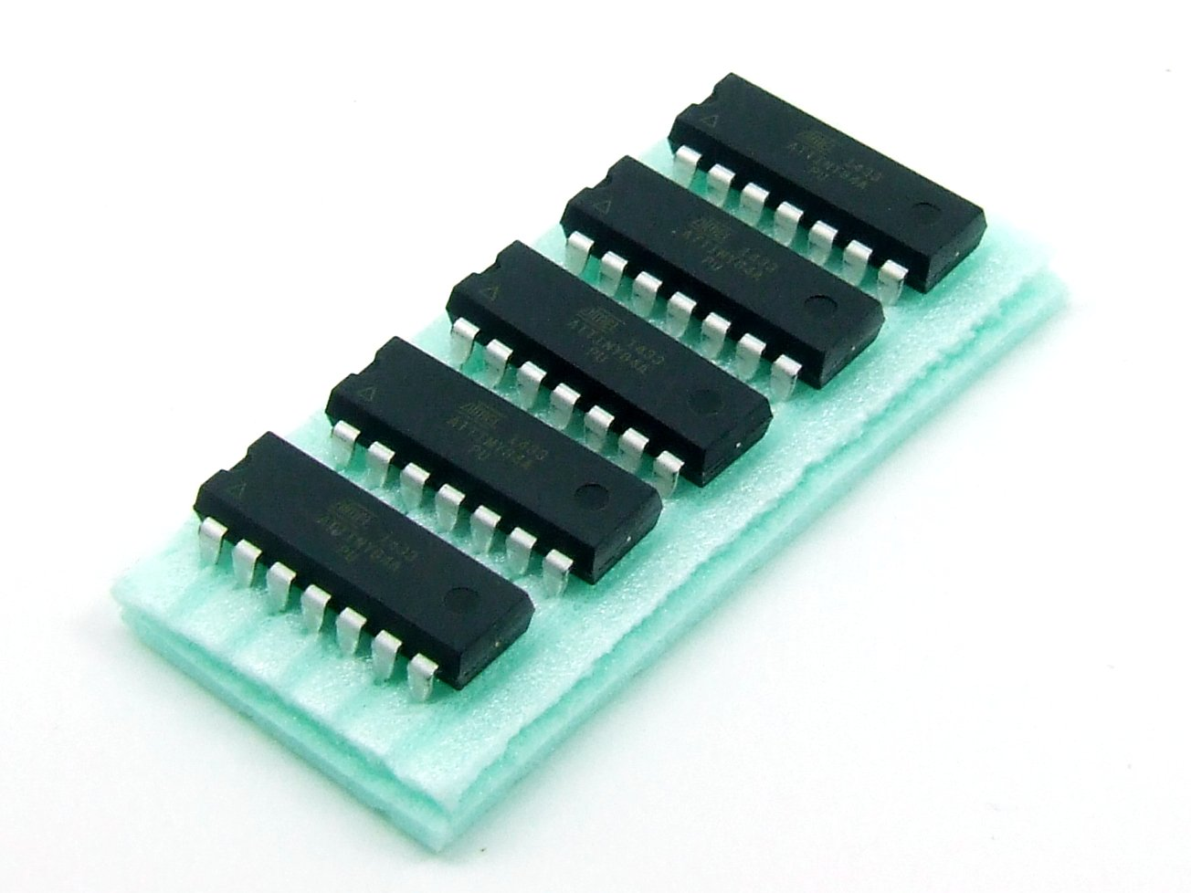 Pezzi / pcs. 5 x ATTINY 84A-PU MCU ATMEL AVR compatibile Arduino / Arduino compatible #A345 Just-Honest DEA345H