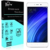 Kaira Xiaomi Redmi 4 / redmi 4a 0.26mm Thickness 2.5D Curved Edged Tempered Glass Screen Protector with Smooth Touch for Xiaomi Redmi 4a