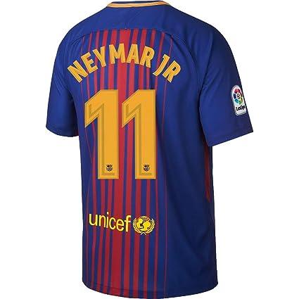 best authentic 913b0 b0b13 Amazon.com : Barcelona Home Neymar Jr Jersey 2017 / 2018 ...