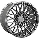 XXR 553 18 PVD Chrome Wheel / Rim 5x112 & 5x120 with a 36mm Offset and a 72.56 Hub Bore. Partnumber 553882001