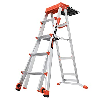 Little Giant Adjustable Step Ladder