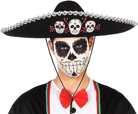 Casa del Disfraz Sombrero Mexicano Halloween: Amazon.es: Juguetes ...