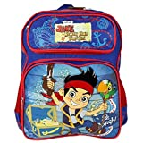 : Jake and the Never Land Pirates Boys School 14' Inch Backpack Bag