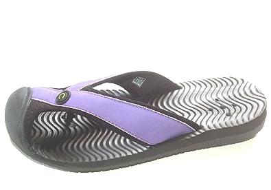 Women's Beach Water Thong Flip Flop Sport Sandals 20901 Purple