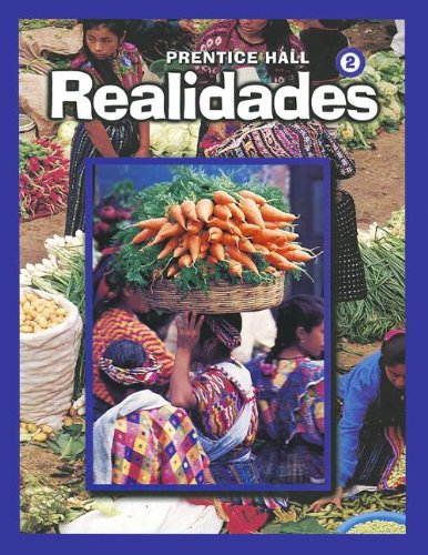 Realidades, Level 2 (English and Spanish Edition) (Leveled Vocabulary And Grammar Workbook Guided Practice)