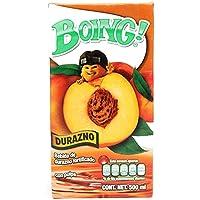 Boing Boing Jugo sabor Durazno de 500 Ml, Durazno, 500 mililitros