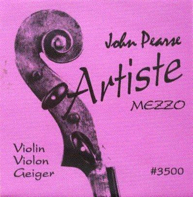 John Pearse 3500 VIOLIN ARTISTE SERIES MEZZO by John Pearse