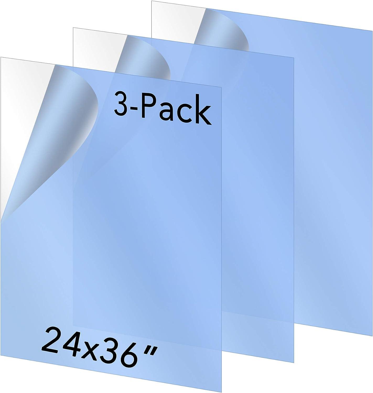 CGSignLab for Rent 24x6 5-Pack Basic Navy Premium Acrylic Sign