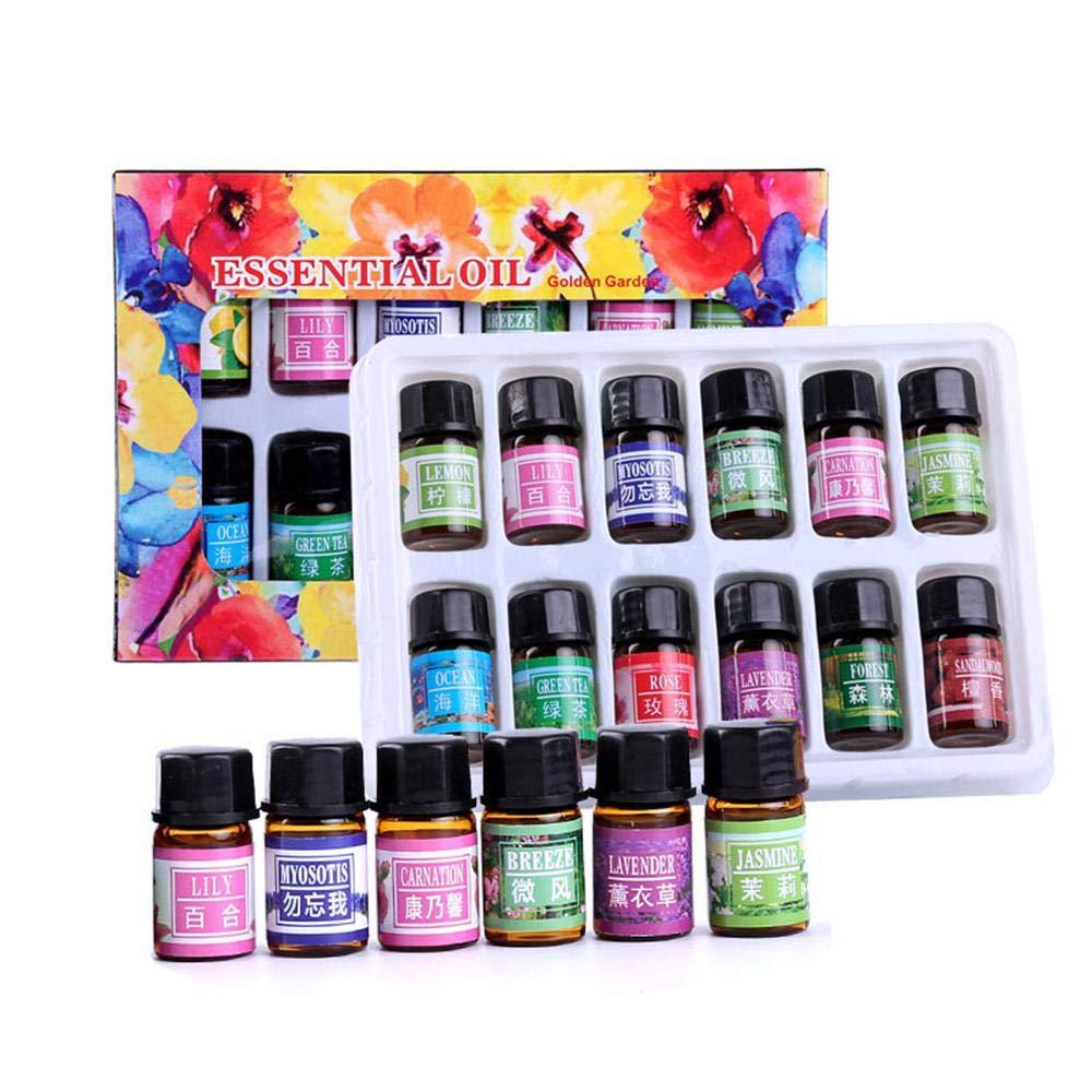 Olio essenziale set Mogoi 12pz pianta naturale terapeutico di olio per spa, yoga stress di purificazione dell' aria