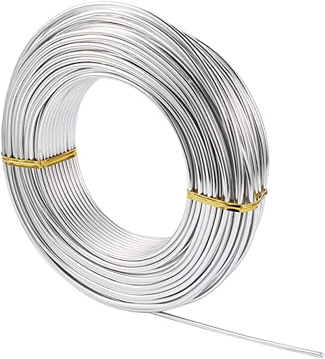 Silver Metal Wire Jewelry Findings Soft Aluminum Wires Women Making Crafts Sale