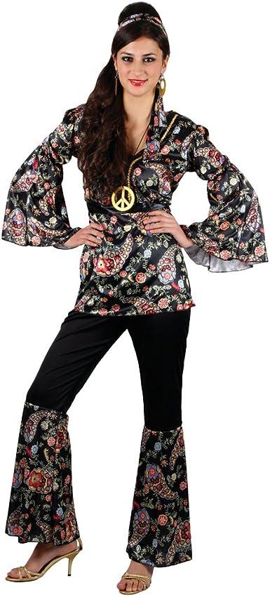 Women/'s Willow the Hippie Fancy Dress Costume