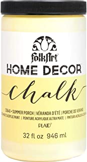 product image for FolkArt Home Decor Chalk Furniture & Craft Paint in Assorted Colors, 32 ounce, Summer Porch