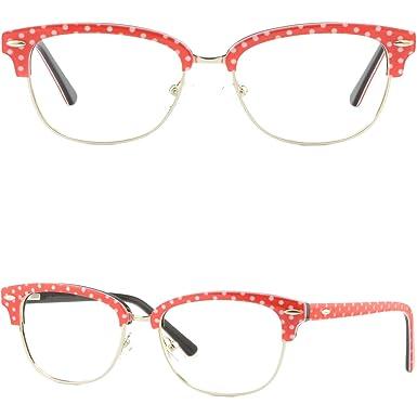 189abc9f9d1 Image Unavailable. Image not available for. Color  Women s Browline Frames  Acetate Prescription Eyeglasses ...