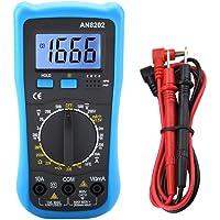 Digital Multimeter Handheld Backlit LCD Multi Tester Volt Amp Diode Voltage Tester Meter for Diagnostic Test Tools