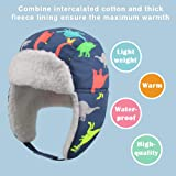Winter Trapper Hat for Boys Girls Waterproof Warm