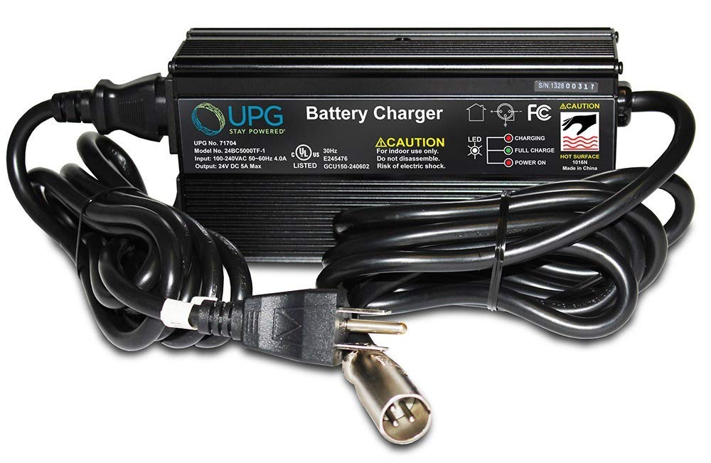 24V 5A Jet Jazzy Wheelchair Power Chair Scooter Heavy Duty Battery Charger