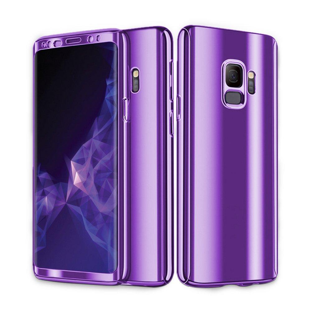 Funda Samsung Galaxy S9 Plus,3 en 1 360 Degree Ultra-Delgado ...
