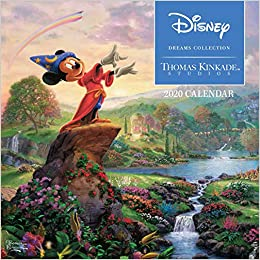 Mini Wall Calendar 2020 Thomas Kinkade Studios: Disney Dreams Collection 2020 Mini Wall