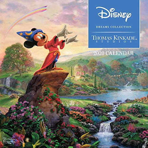 Thomas Kinkade Studios: Disney Dreams Collection 2020 Mini Wall Calendar par  Thomas Kinkade