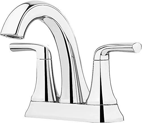Pfister LF-048-LRCC Ladera 4 Centerset 2 Handle Bathroom Faucet, Polish Chrome