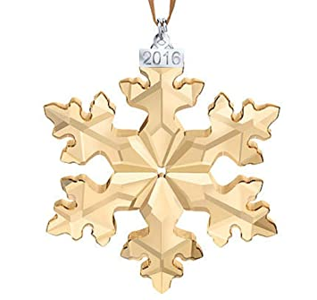 Amazoncom Swarovski SCS Christmas Ornament Annual Edition 2016