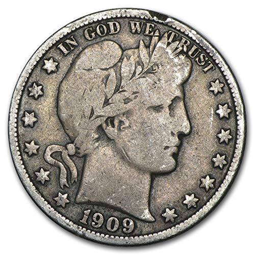 1909 O Barber Half Dollar Fine Half Dollar Fine