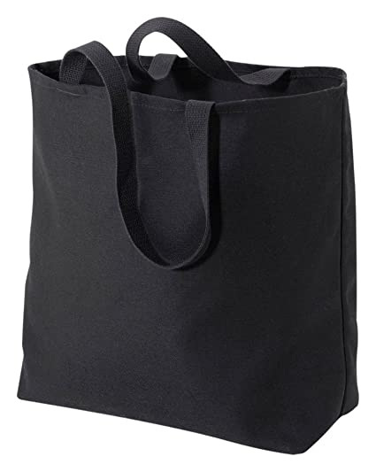 Amazon.com   Port   Company Jumbo Tote Bag (B300) Black   Travel Totes c5ac7728f0