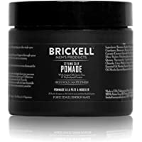 Brickell Men's Styling Clay Pomade For Men, Natural & Organic with Strong Hold & Matte Finish, Product for Modern…