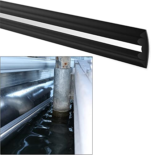 MEGAWARE PONTOONGUARD – Pontoon Tube and Log Bumper Guard 40ft Kit – Pontoon up to 25ft, Black