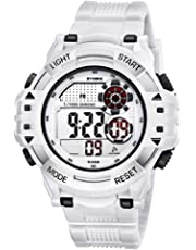Men's Digital Sports Watch, Multiple Functions Waterproof Military Watch Running Hiking Watch with Backlight