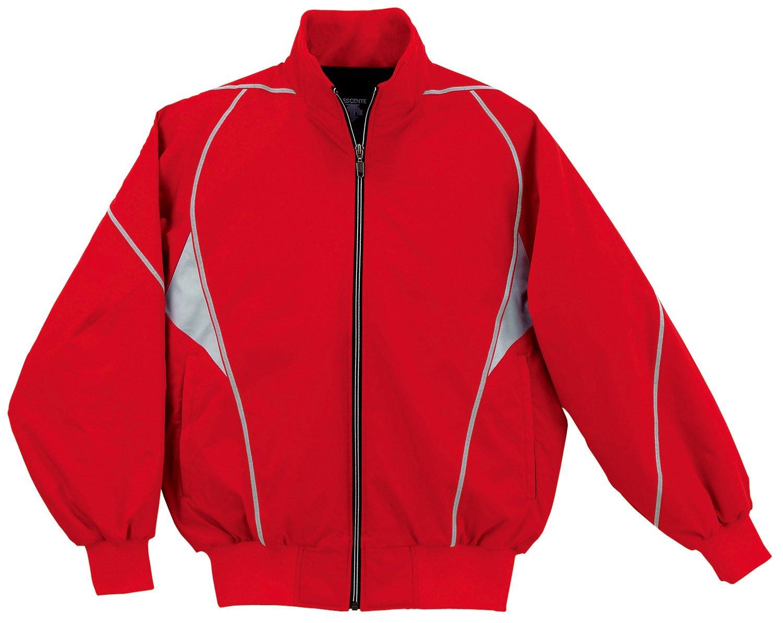 DESCENTE(デサント) 野球 グランドコート DR208 B001LOVVWK Small|レッド(RED) レッド(RED) Small