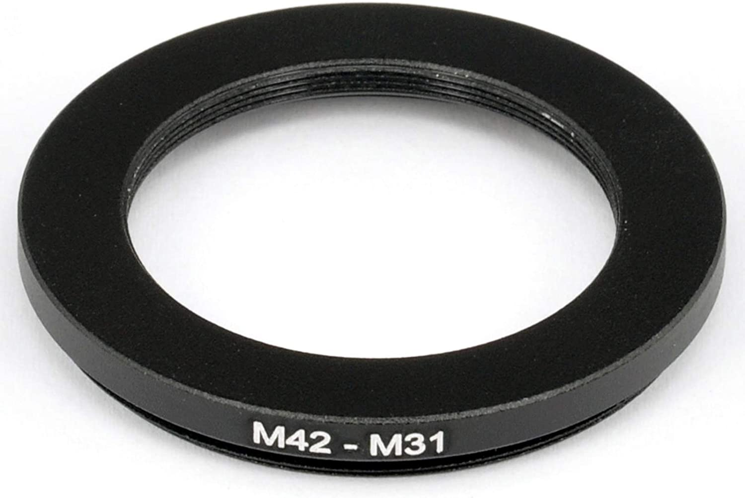 M42-M31 mm Male to Female Step-Down Coupling Ring Adapter for Lens Filter Telescope to M31 42mm 1mm Thread Pitch 31mm 0.5mm Thread Pitch Metal M42