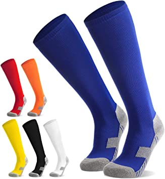 FußballLaufenTraining6 Fußball Strümpfe Farben Kinder Trainingssocke für Fußballsocken Jugendliche Sportsocken Sockenstutzen Stutzen Socken TKlJcF1