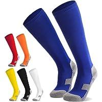 Northdeer Calcetines de fútbol para niños, jóvenes, Calcetines Altos hasta la Rodilla, Calcetines Deportivos, Calcetines…